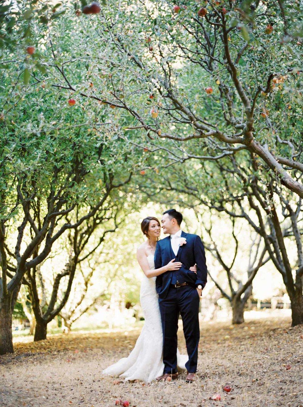 film wedding photographer Nestldown