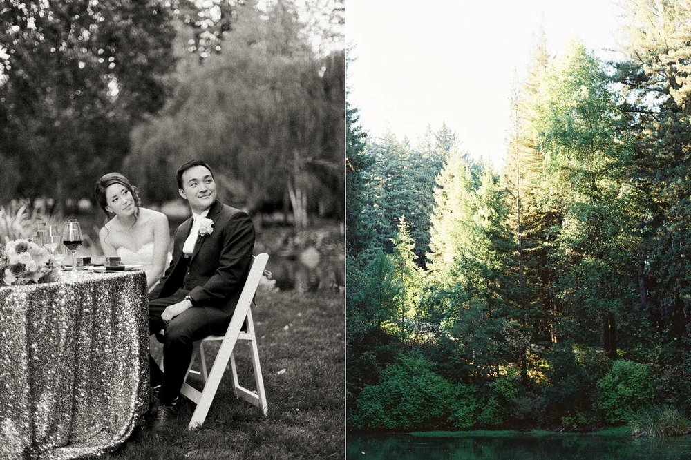 Nestldown California wedding photography