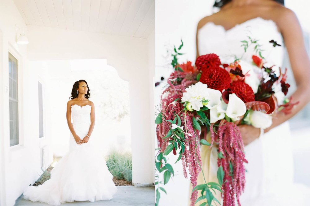 Solage Calistoga film wedding photos