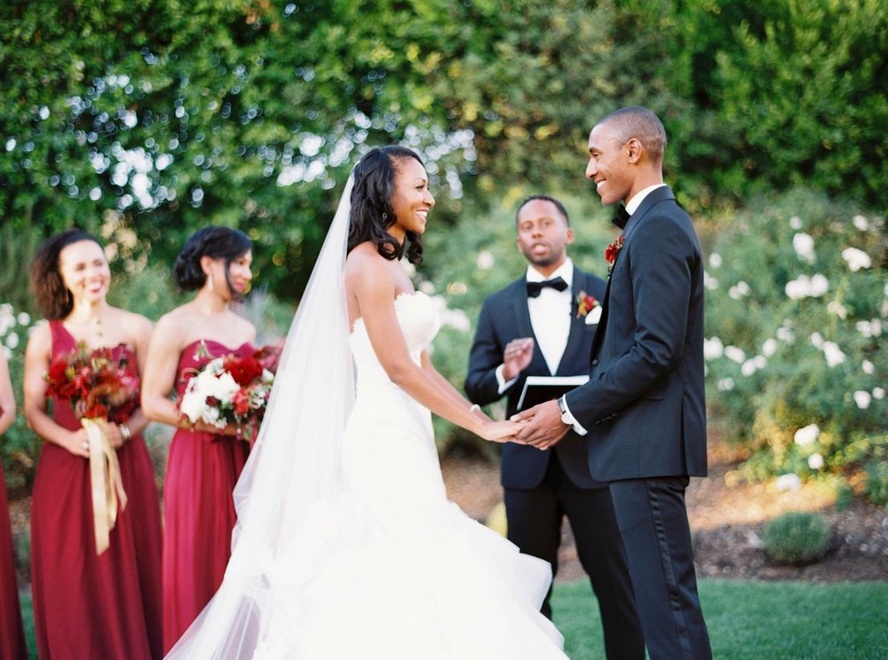 wedding couple Solage Calistoga