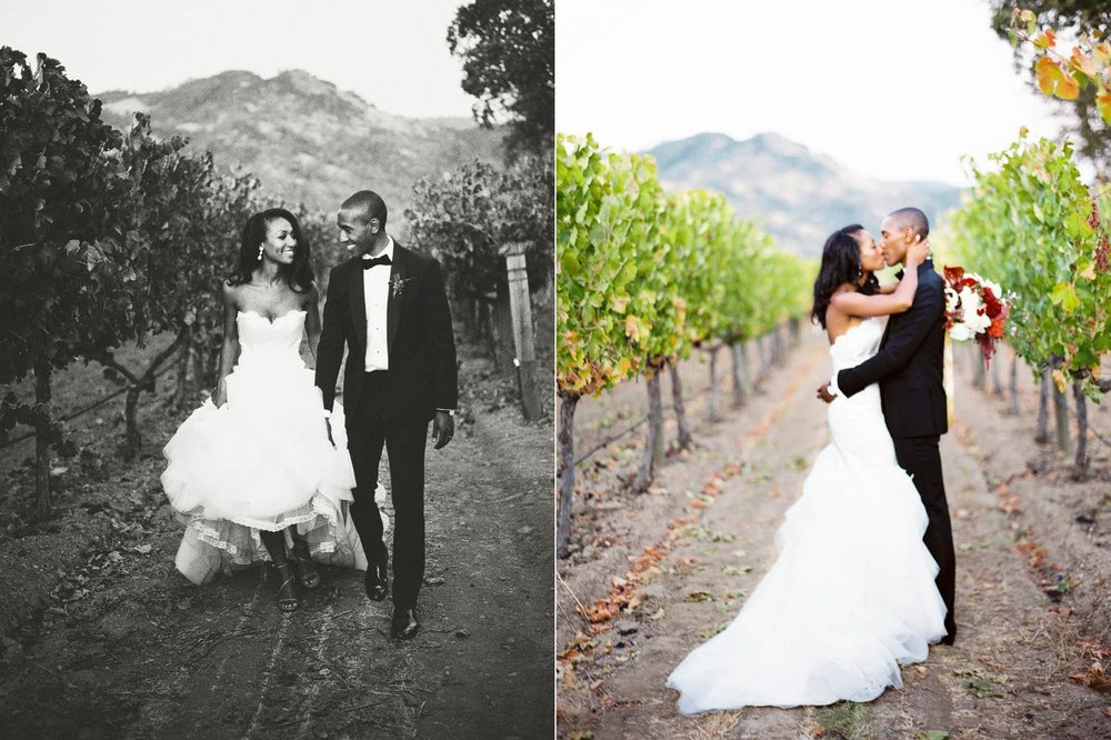 wedding photography Solage Calistoga