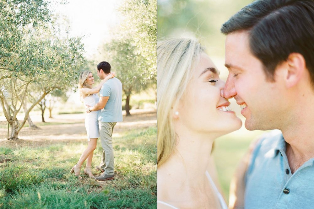 Napa engagement images