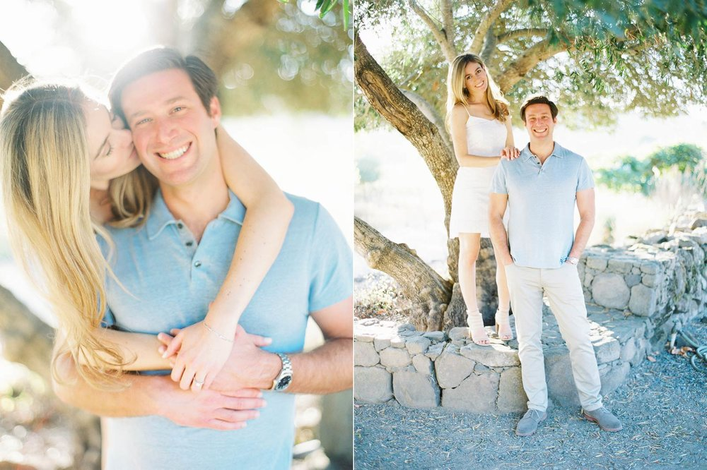 napa engagement film photos