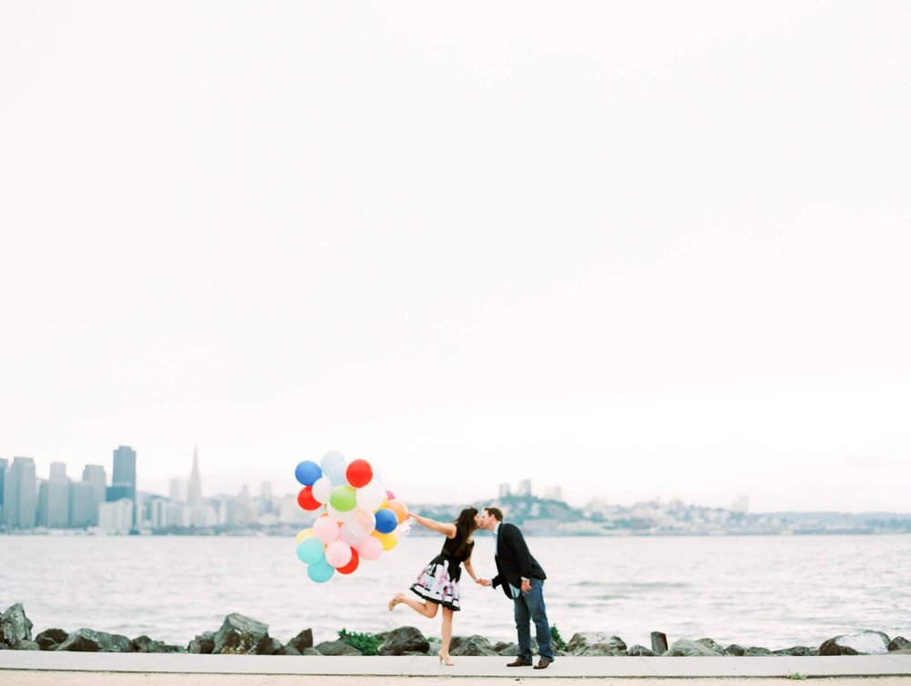 Treasure Island engagement pictures