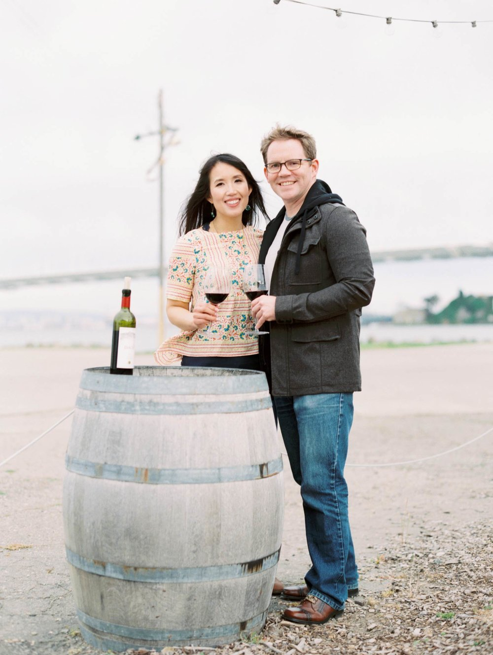 Treasure Island engagement photos