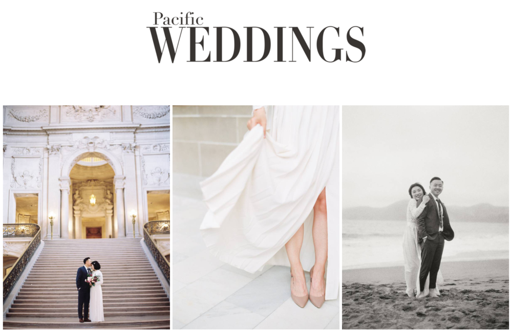 Yourdreamphoto featured on Pacific Weddings