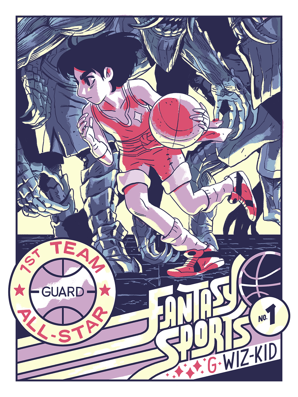 Fantasy Sports #1 Wiz-Kid Poster