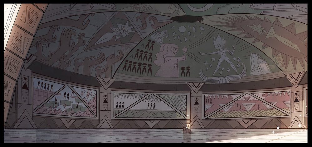 Layout design for Steven Universe (Cartoon Network)