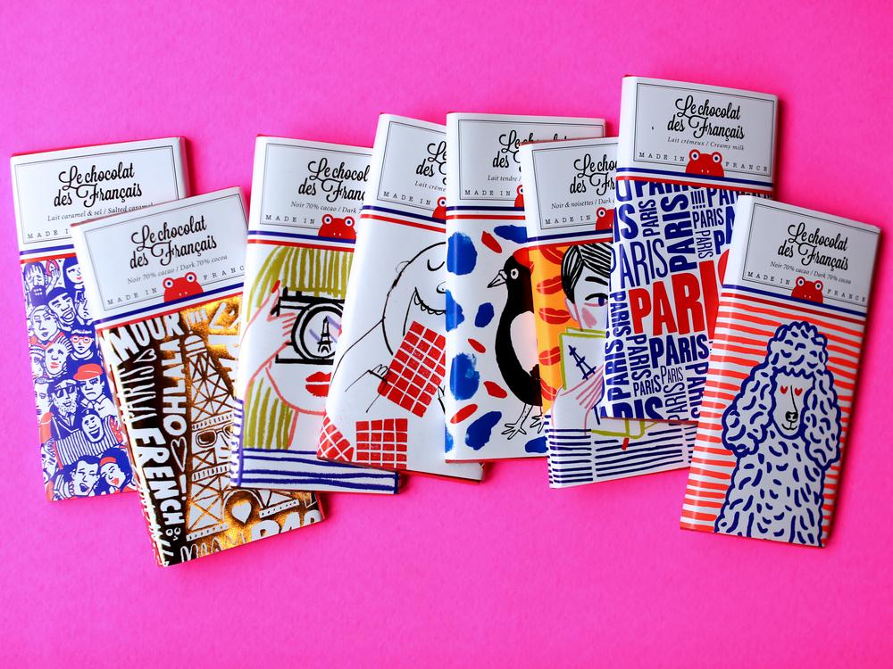 French Chocolate Bar  - Les Chocolat des Francais