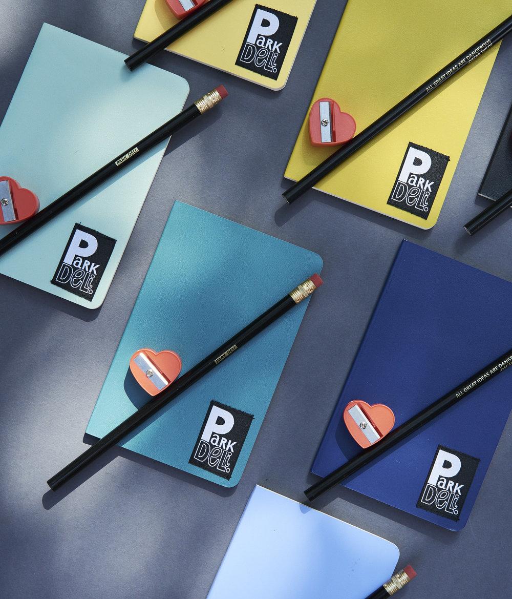 Park Deli Notebook Set