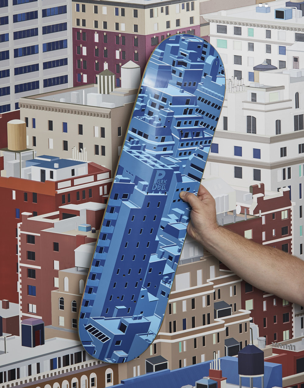 Park Deli Daniel Rich Skateboard Deck
