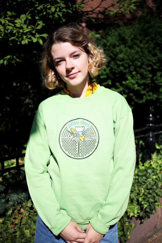 Manho Crew Sweatshirt