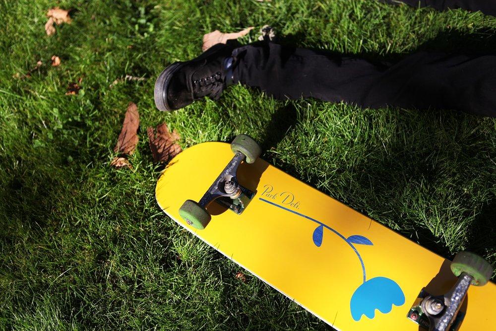 Single Stem Skate Deck