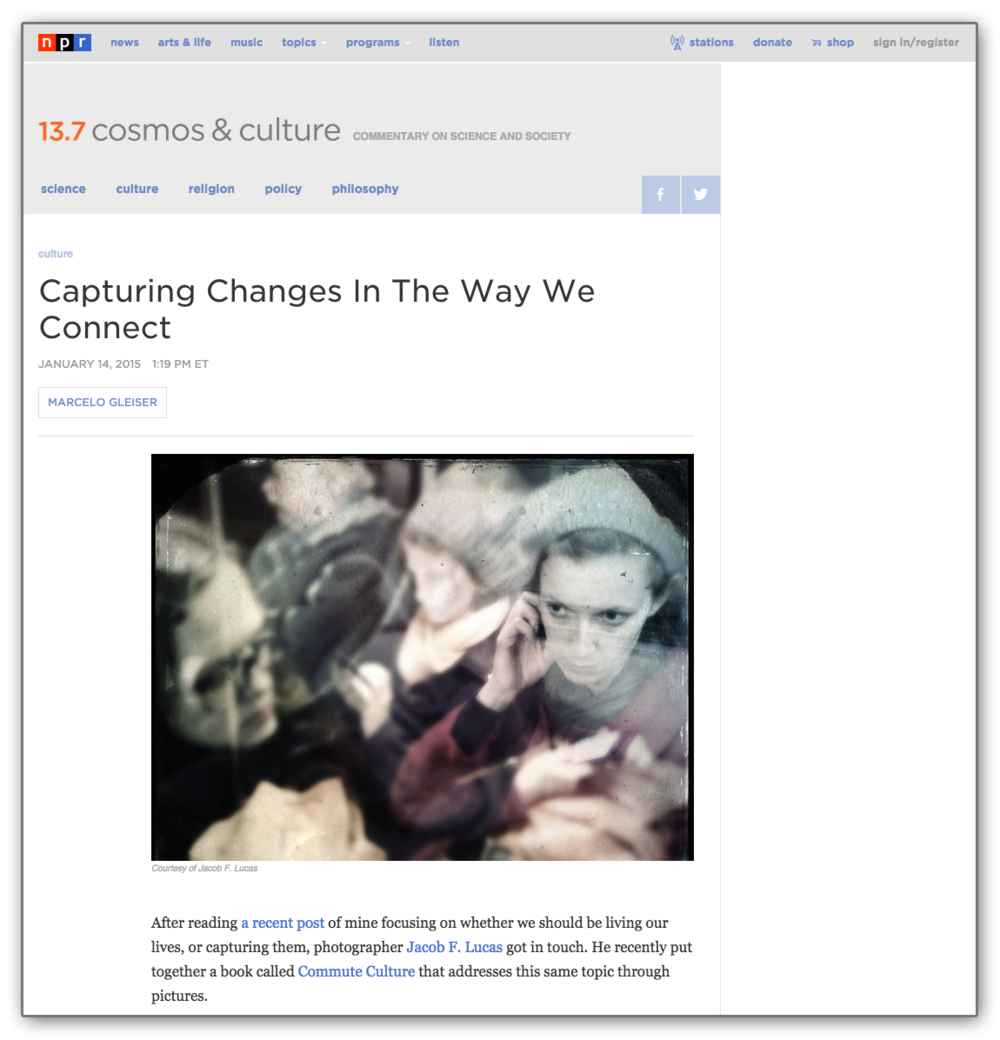As featured on the NPR blog, from January 14, 2015.