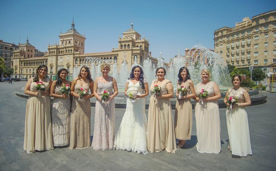 Spain Bridal Party