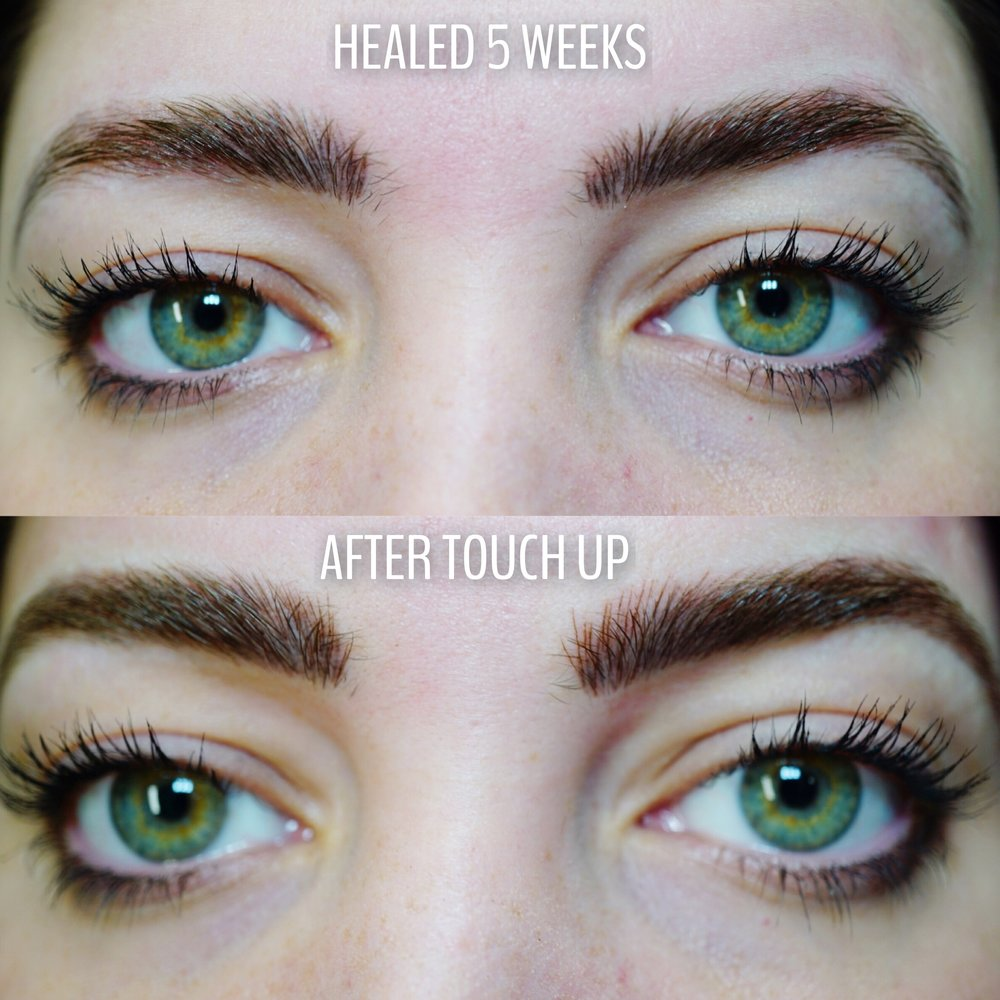before and after microblading by Kara Sanchez in Texas.JPG