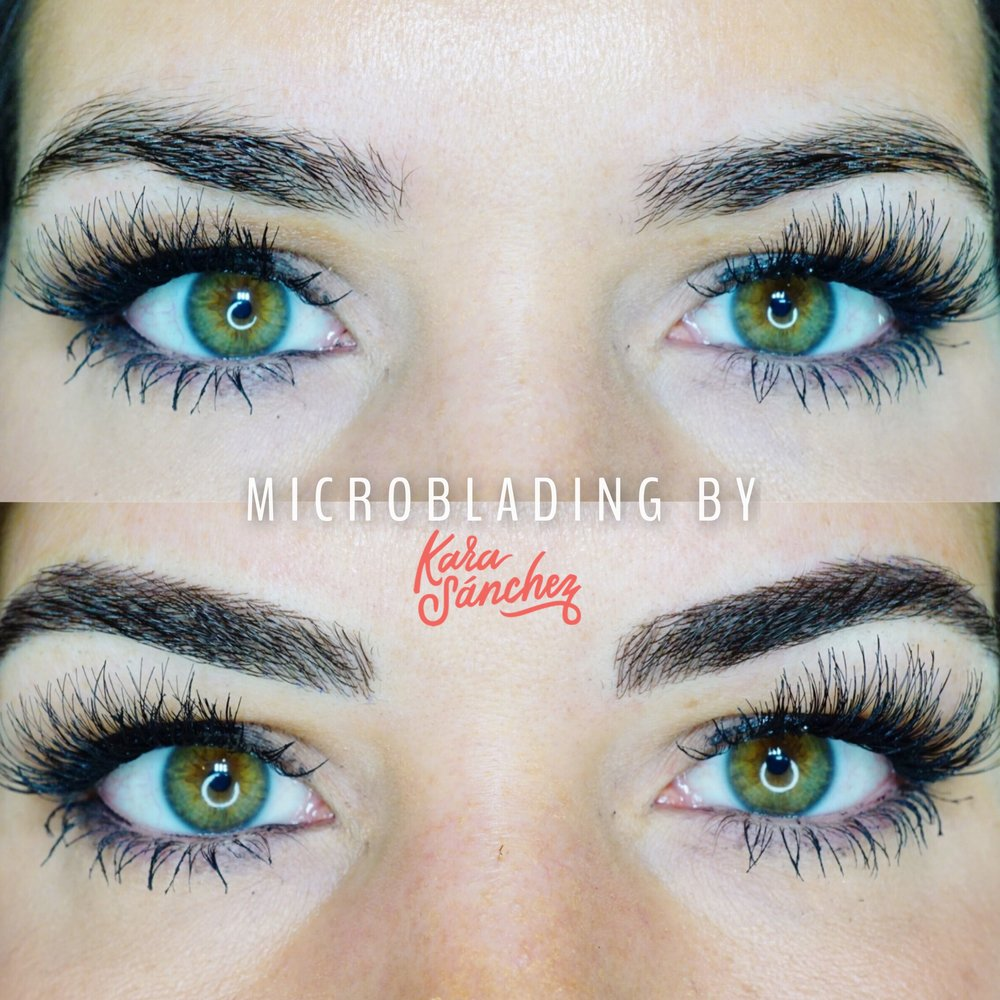 feather brows microblading by kara sanchez austin texas