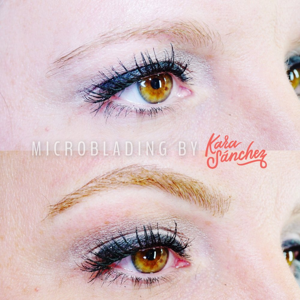 microblading for red hair