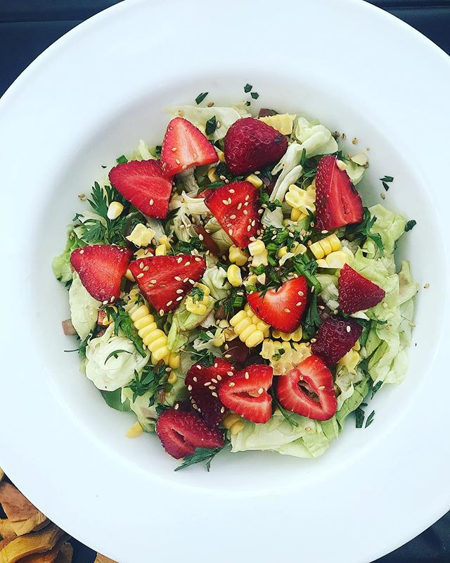 The summer is here! #chefbrycefluellen #starwberries #california #losangeles #fruit #salads #happymemorialday