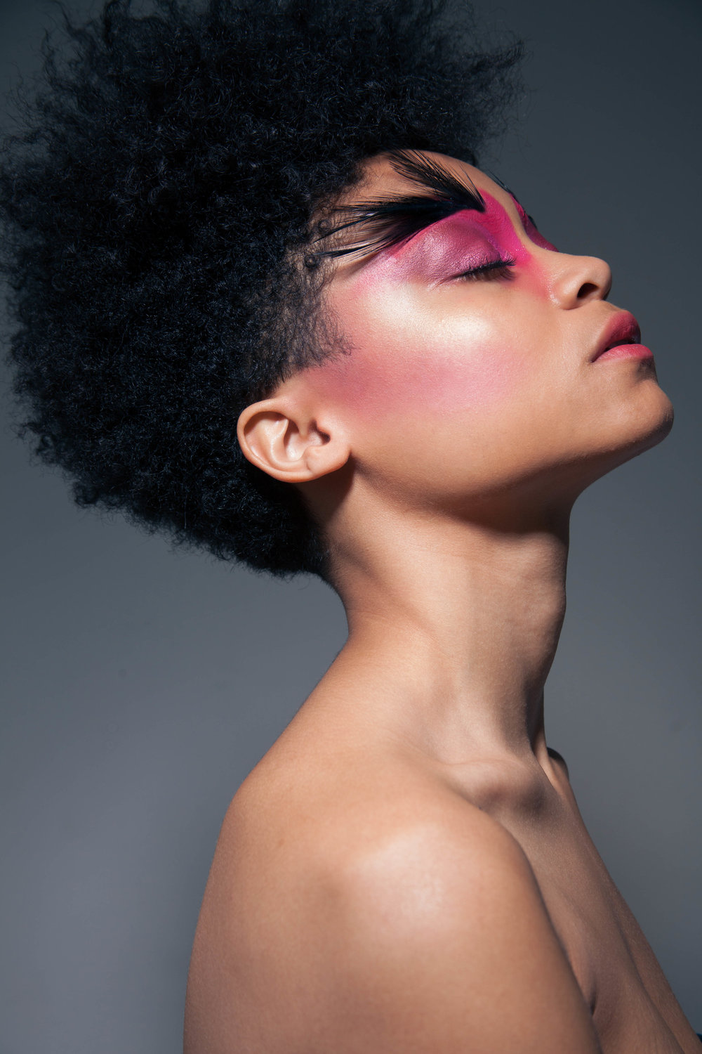 My 2016 Personal favorite featuring model Kayana Howard with makeup by Emma Bahi