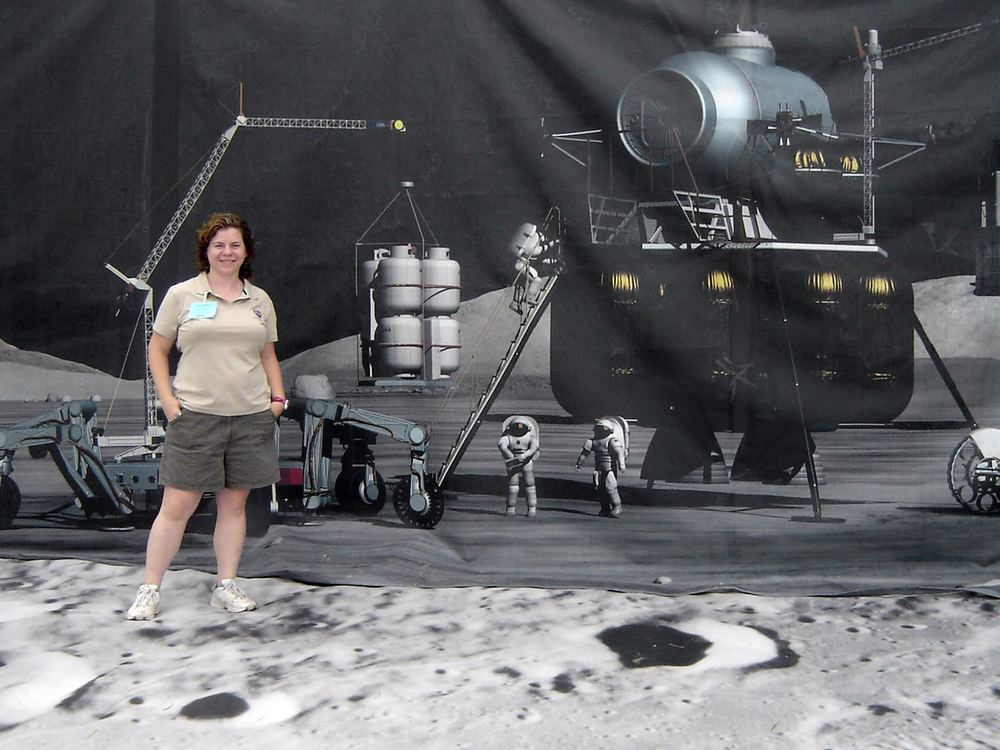 Dr. Barbara Cohen discusses craters on our moon, and how they will be explored by a new NASA mission called Lunar Flashlight.