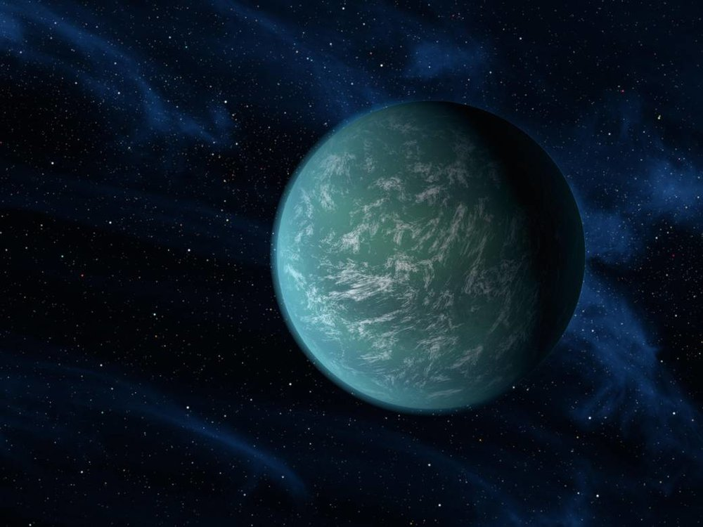 Dr. Kevin Schlaufman  tells us about exoplanets that orbit around their stars in an unusual manner. He also explains what his research says about the Earth's fate when our sun dies, billions of years from now.  Image credit: Artist's conception of exoplanet Kepler-22b. NASA/Ames/JPL-Caltech
