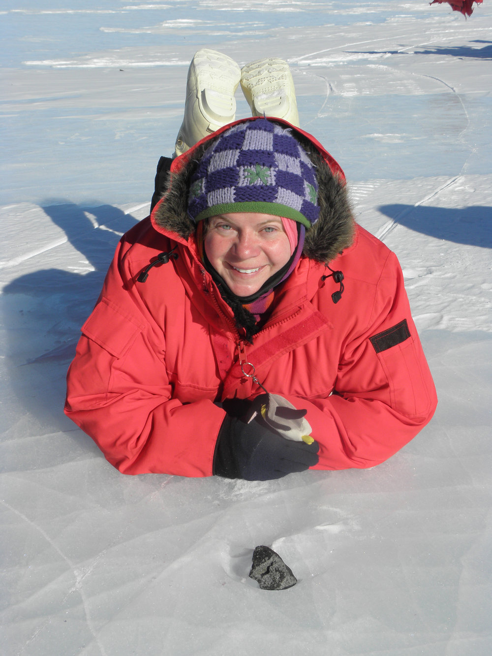 "Dr. Barbara Cohen  returns to the show to talk about meteorite collecting in Antarctica. These trips, which involve weeks of camping on the ice, provide invaluable scientific samples. She talks about what it's like to search for the rocks that ""don't belong"" in the frozen desert.  NASA put out a great article on her work as well, read it  here ! Also check out Dr. Cohen's  Wikipedia page ."