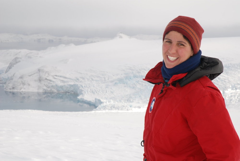 Dr. Michele Koppes returns to the show to talk about her experiences studying glaciers in the field. She describes what a glacier sounds like at night, and why a good glaciologist is generally handy with a soldering iron.  Learn more about Dr. Koppes' work by visiting  her lab's website !