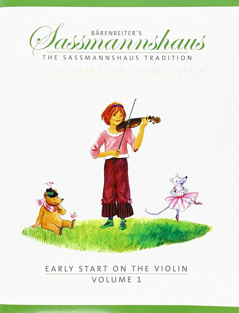 Beginning Violin Monday - The Sassmannshaus Tradition:Early Start on the Violin, *Students should also have a black three ring binder Teacher: Katie Harpainter