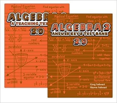 Algebra 2 - Teaching Textbooks 2.0 Algebra 2 Teacher: Leigh Elkins