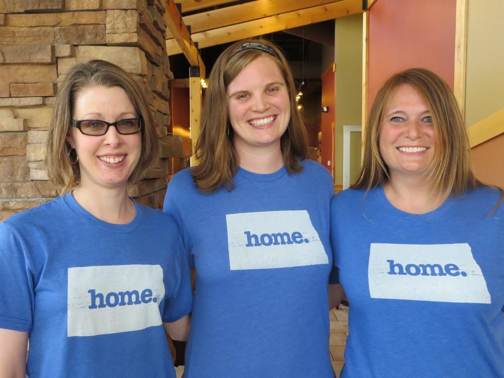 Team My North Dakota Story: Kim, Erika, and Angie
