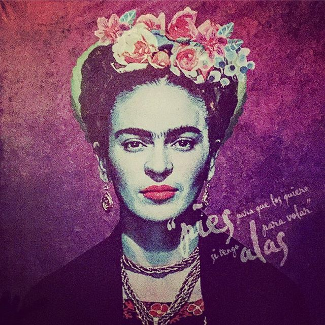 #fridakahlo #flowers #art #mexico #playa #playadelcarmen #restaurant #woman #mexicanfood