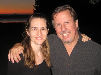 Richard Schwartz & I, IFS Level 3 Training, Seattle, 2011
