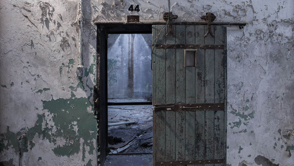 Doorway from Eastern State Pentientiary, Philadelphia