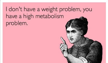 Everyone mentions metabolism when they talk about weight loss, but do you really know what it is and how it can affect your weight loss?