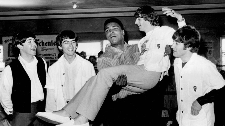 Ringo Starr recalls  the Beatles ' historic 1964 meeting with  Muhammad Ali .   Globe Photos / Zuma ; via  Rolling Stone