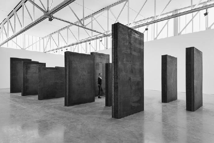 Richard Serra   Every Which Way  , 2015 at  Gagosian Gallery through 10/22.16