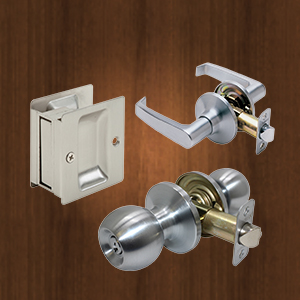 Promax Locks   Residential Brands of Locks   Handlesets     Leversets     Knobsets    Deadbolts     Sliding Door Locks    View All