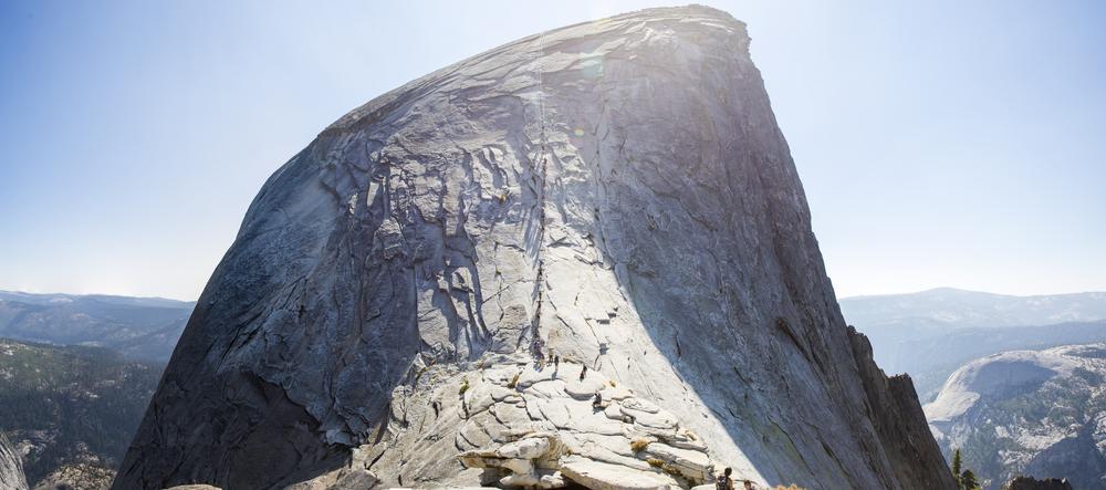 The Half Dome up close!