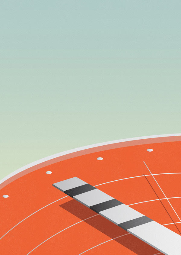 Race-against-time-Minimalist-Illustration-by-Ray-Oranges.jpg
