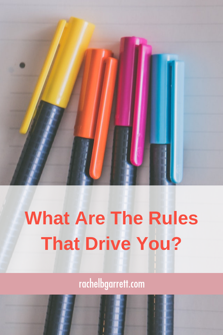 rules, beliefs, games, rules that drive