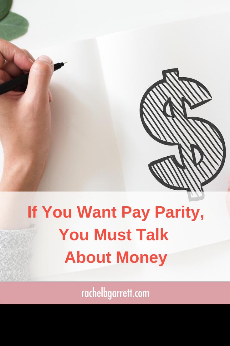 parity, money, salary, money talks