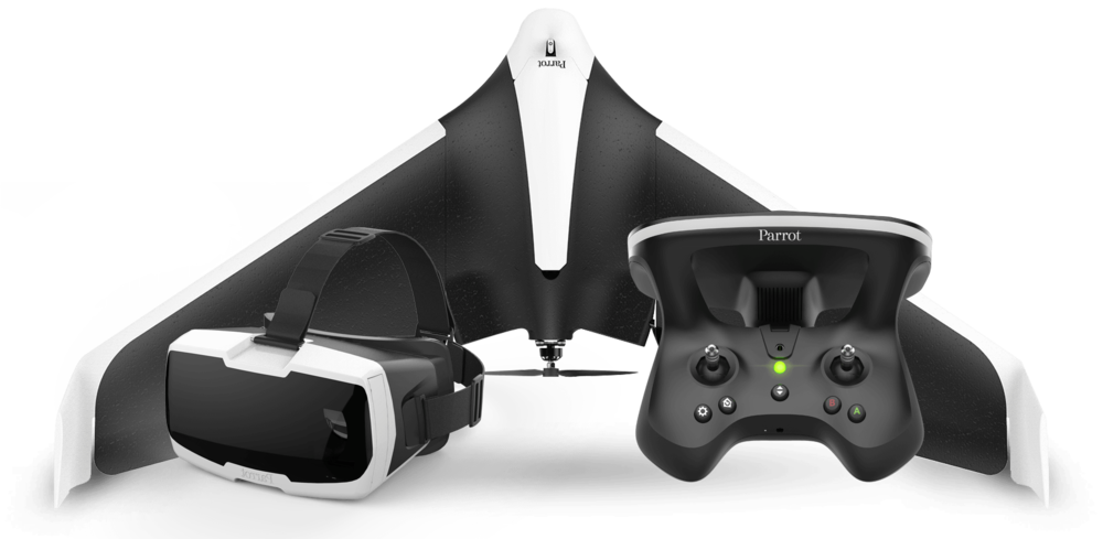 Can't wait to get my hands on this NEW fixed wing ship, released earlier this year at Consumer Electronics Show in Las Vagas the NEW Parrot Disco!   I have one on order, review soon!