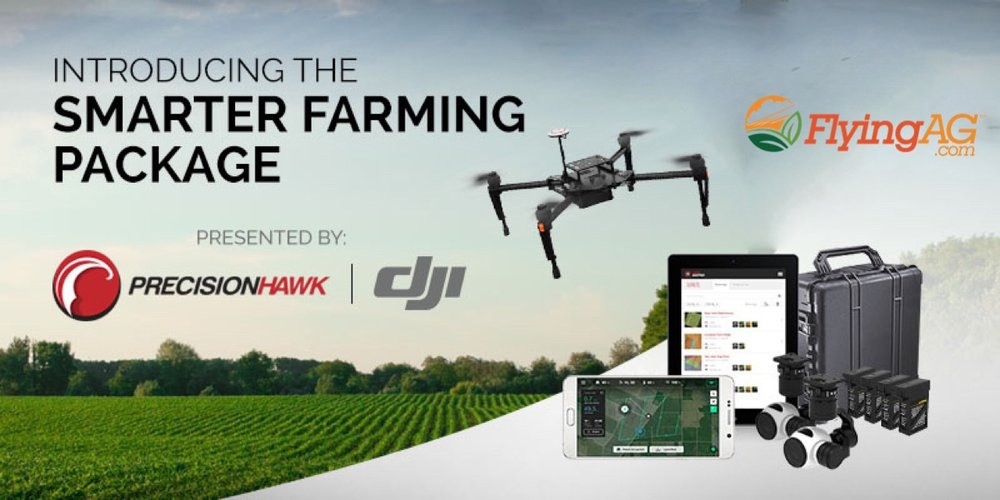 Great new kit from PrecisionHawk, which features DJI Matrice M100 with DataMapper software.  This kit has been well received from the guys using it.