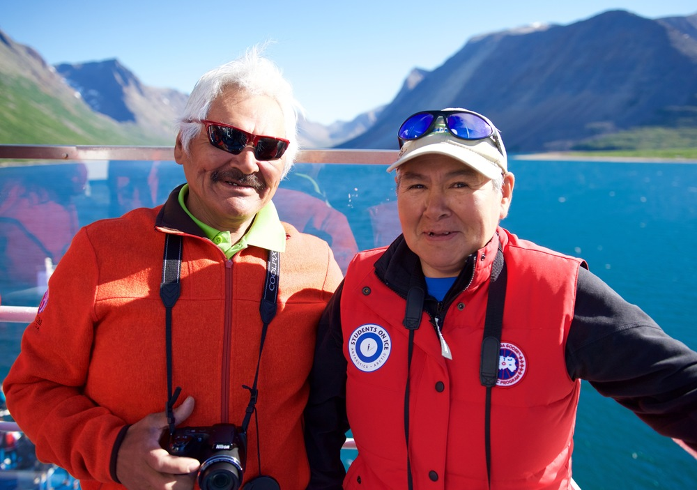 As we sailed into Nachvak Fjord, I stood on deck with Boonie and Eli Merkuratsuk, friends I've shared seasons and stories with in Goose Bay, Nain, and the Torngats.   Boonie and Eli were glowing, pointing out places where they'd camped, fished, and hunted with their family growing up. For the Merkuratsuks, this is home. Seeing Nachvak Fjord through their eyes is to discover intimately human stories in one of the wildest places on earth.   Ilinniajuk takunnagiamik. ᐃᓕᓐᓂᐊᔪᒃ ᑕᑯᓐᓇᒋᐊᒥᒃ.  ‪#‎learningtosee‬