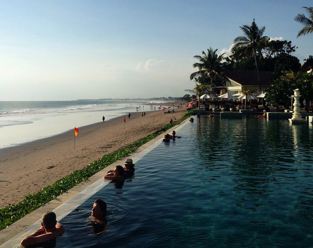 Pool at the Seminyak resort and spa