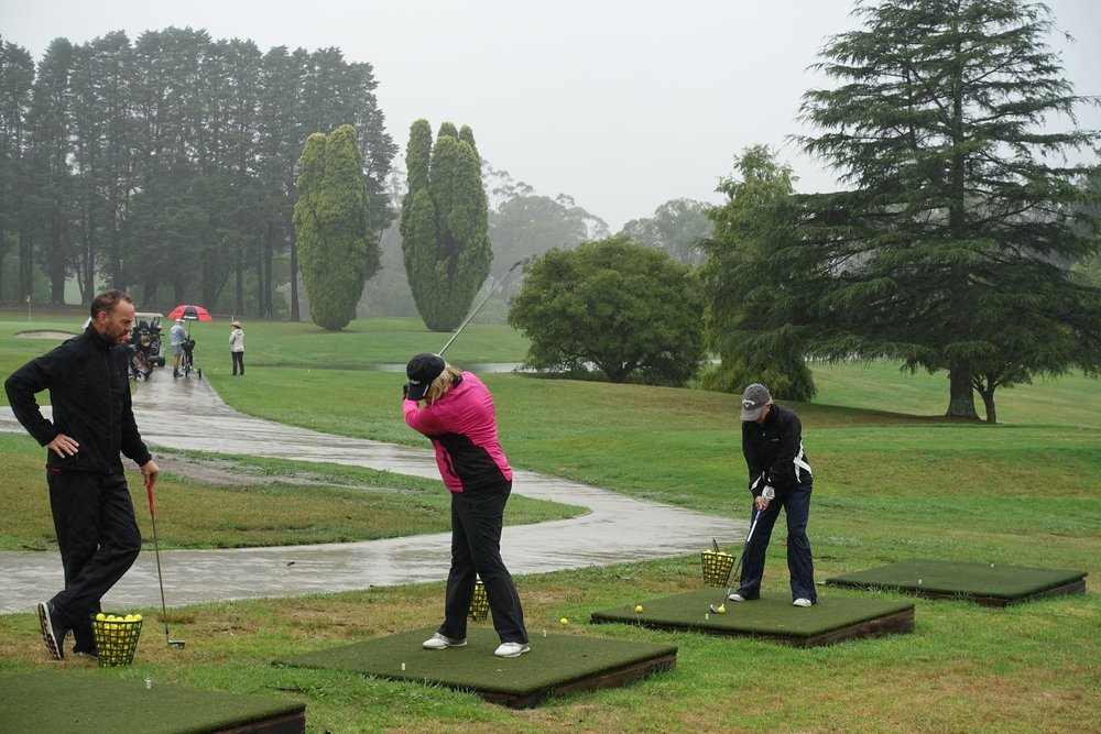 Tony White Bowral Golf School Feb 17