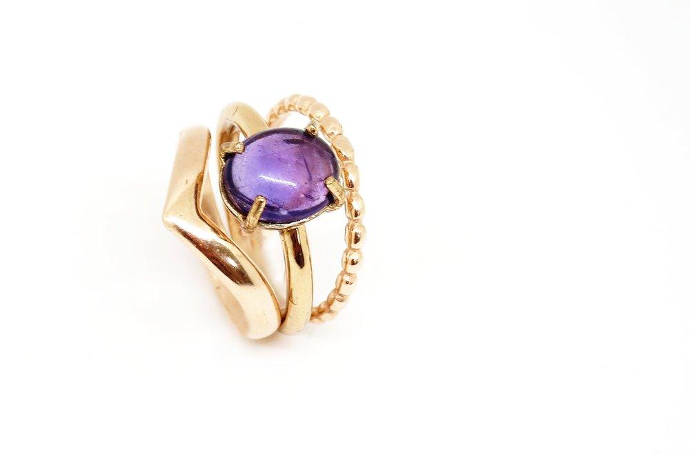 Dot Ring rose Gold