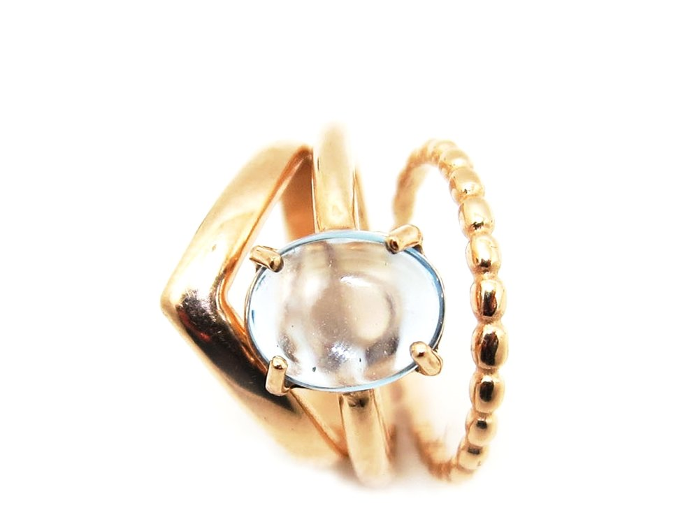 Dot Ring Rose Gold