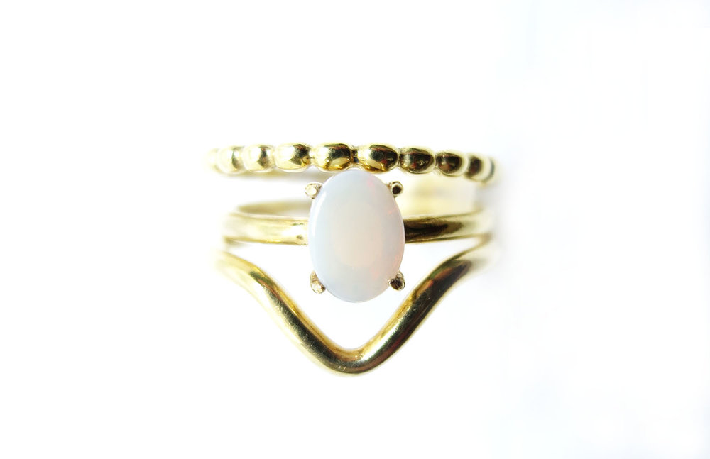 milky opal yellow gold trio thin arrow.jpg